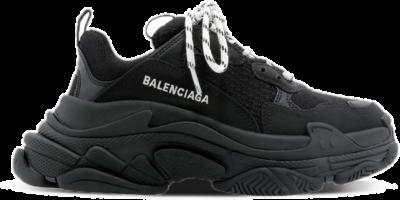 Balenciaga Triple S Black White Lace (W) 524036W2CA11000