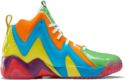 Reebok Candy Land Kamikaze II Schoenen Super Green / Bright Orange / Blue Bomb GZ8825