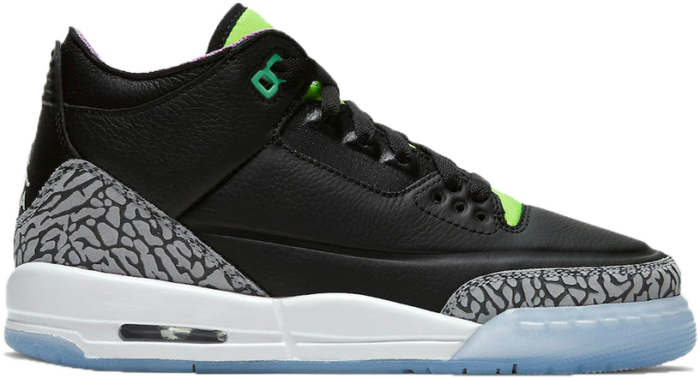 Jordan 3 Retro Electric Green (GS) DA2304-003