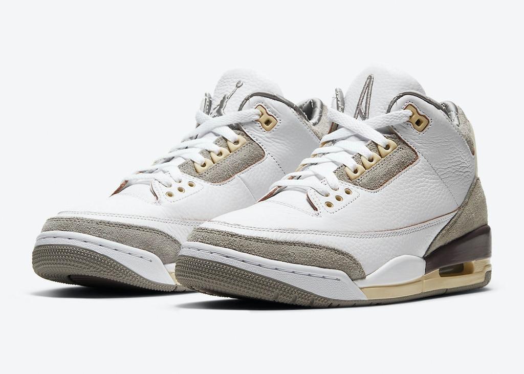 Op 30 maart aanstaande komen de Air Jordan 3 'A Ma Maniére' uit