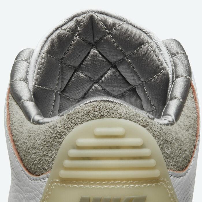 quilted Air Jordan 3 nike