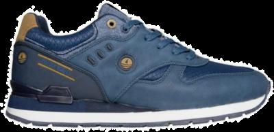 NAVY SAIL Jeans Cuoio Heren Leren sneakers NSM01300502 blauw NSM01300502
