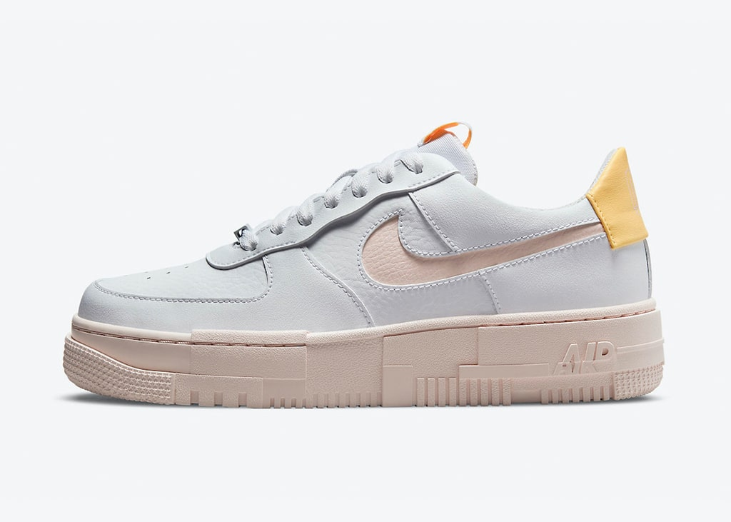 Remixing classics: de Nike Air Force 1 Pixel 'Arctic Orange' komt binnenkort uit