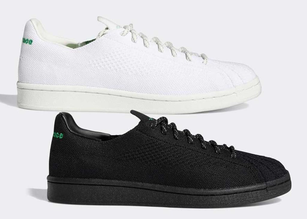 Nieuwe strakke adidas Superstar van Pharrell Williams in Primeknit