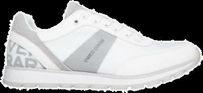 ENRICO COVERI White Heren Sneakers ECM01374501  ECM01374501
