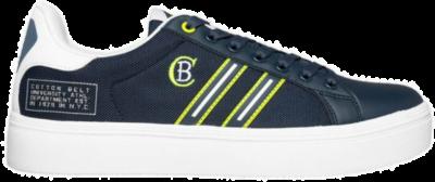 COTTON BELT Aster Flag Lime Heren Sneakers CBM01501107 blauw CBM01501107