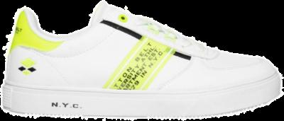 COTTON BELT White Flag Yellow Heren Sneakers CBM01401251 wit CBM01401251