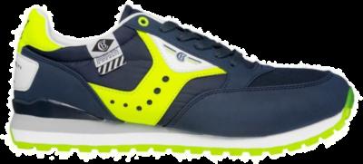 COTTON BELT Ming Flag Yellow Heren Sneakers CBM01305008 blauw CBM01305008