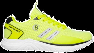 COTTON BELT Fluo Yellow Heren Sneakers CBM01801156 geel CBM01801156