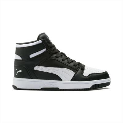 Puma Rebound Lay Up sportschoenen voor Heren Wit / Zwart 369573_01