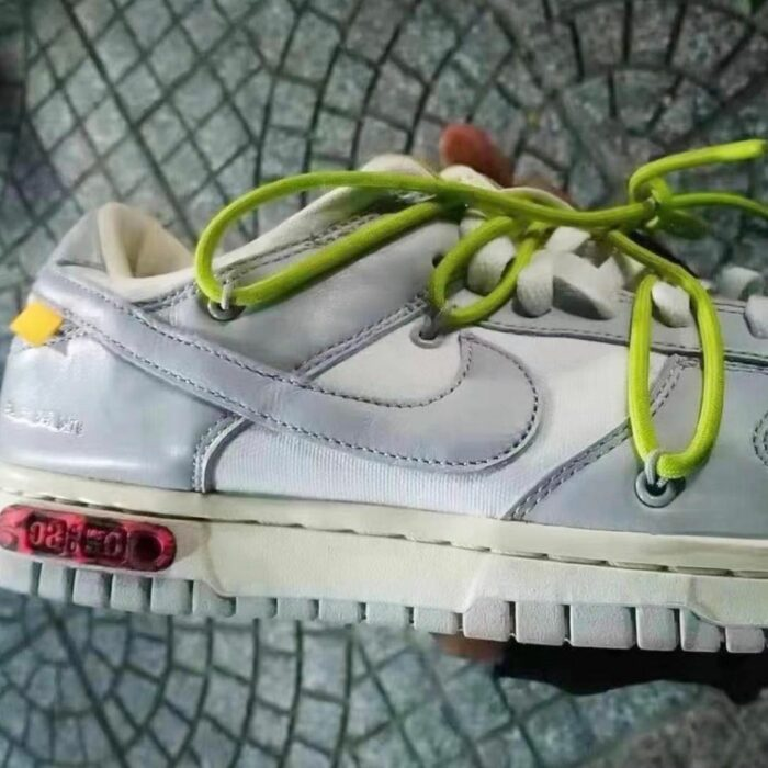 dunk low nike off white