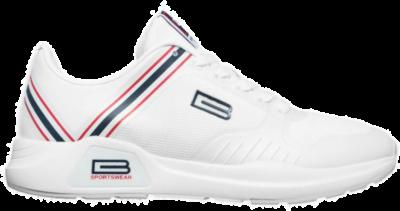 BASILE Blanc Heren Sneakers BSS91516001 wit BSS91516001