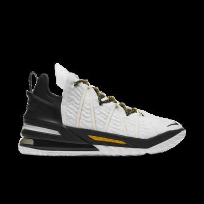Nike LeBron 18 White/Amarillo-Black White CQ9283-100