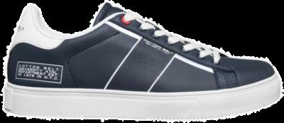 COTTON BELT Flag White Heren Sneakers CBM01400104 blauw CBM01400104