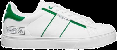 COTTON BELT White Green Heren Sneakers CBM01400105 wit CBM01400105