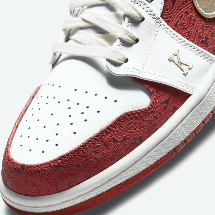 spades Air Jordan 1 low
