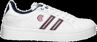 COTTON BELT Lollipop Aster Heren Sneakers CBM01501101 wit CBM01501101