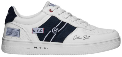 COTTON BELT White Heren Sneakers CBM01405601 wit CBM01405601