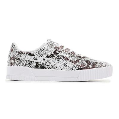 Puma Carina Reptile sneakers dames Wit / Zwart 382506_01