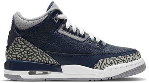 "Air Jordan 3 RETRO (GS) ""MIDNIGHT NAVY"" 398614-401"