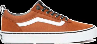 Vans Ward Sneakers Heren oranje/bruin – wit VN0A38DM0PD1