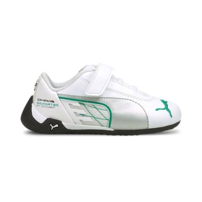Puma Mercedes R-Cat V babysneakers Zilver / Wit 306624_03