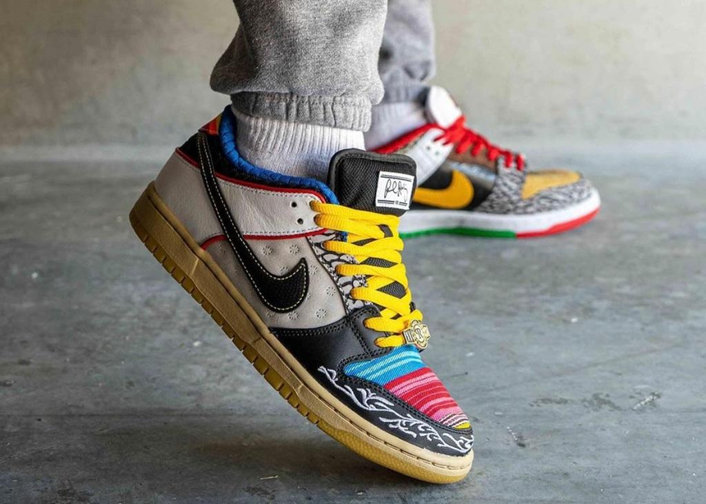 Wat vinden jullie van de uitbundige Nike SB Dunk Low 'P-Rod'?