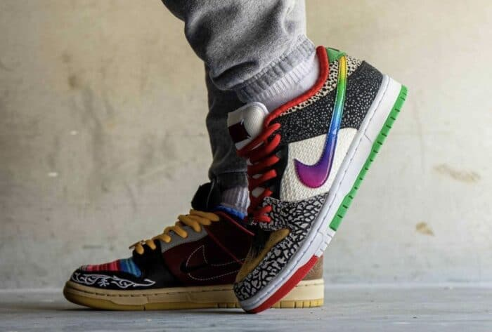 low sb nike dunk what the