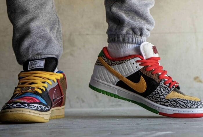 nike dunk sb low p rod what the