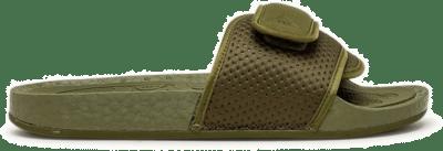 "adidas Originals x PHARRELL WILLIAMS BOOST SLIDE ""OLIVE CARGO"" FY6141"