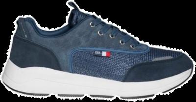 BASILE Marine Heren Sneakers BAM91370601 blauw BAM91370601