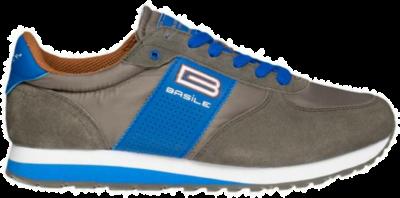 BASILE Gris Heren Sneakers BAM91350002 bruin BAM91350002