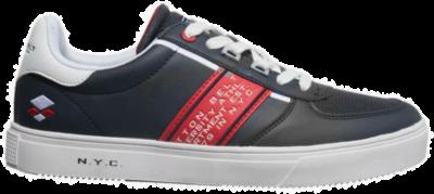 COTTON BELT White Heren Sneakers CBM01401002 blauw CBM01401002