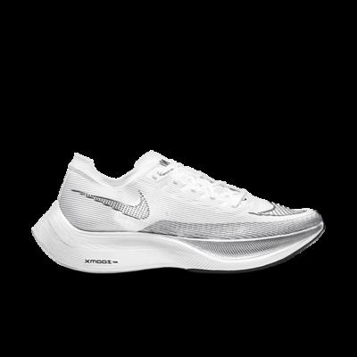 Nike ZoomX Vaporfly Next% 2 White Metallic Silver CU4111-100