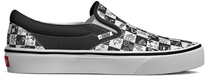 VANS Doodle Checkerboard Classic Slip-on  VN0A5AO86U6