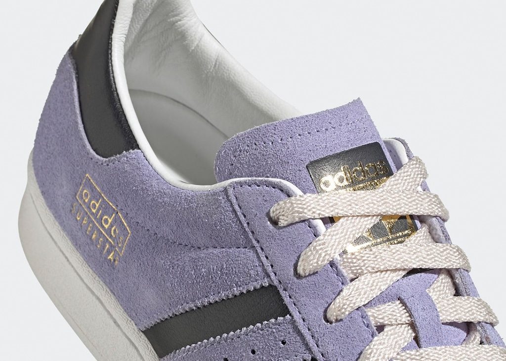 No cap, op 1 april brengt adidas de Superstar 'Dust Purple' uit