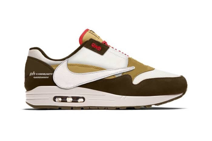 mock up Travis Scott Air max