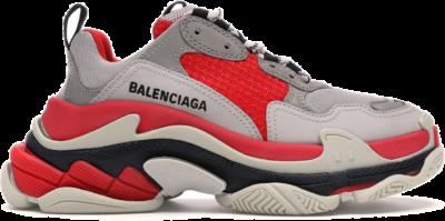 Balenciaga Triple S Red Grey (W) 524039W09OH6495