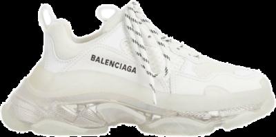 Balenciaga Triple S Clear Sole White (W) 544351W2FB19000