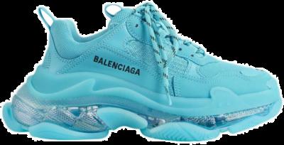 Balenciaga Triple S Clear Sole Turquoise (W) 544351W2GA14452