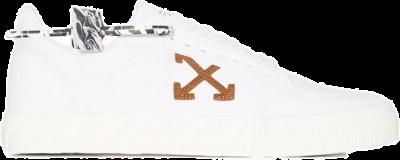 OFF-WHITE Vulc Low White Brown OMIA085R21FAB0020160