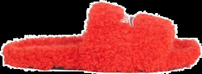 Balenciaga Furry Slide Red White (W) 654261W2DO16596