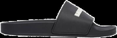 Balenciaga Pool Slide Black White (W) 565547W1S801006