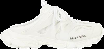 Balenciaga Track Mule White (W) 653813W3CP39000