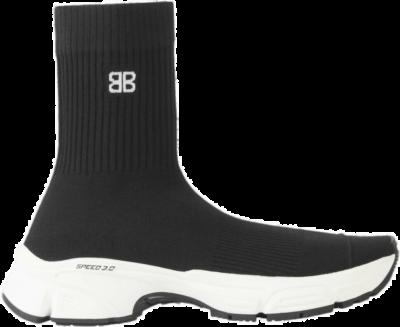 Balenciaga Speed 3.0 Black White (W) 654466W2DN11090