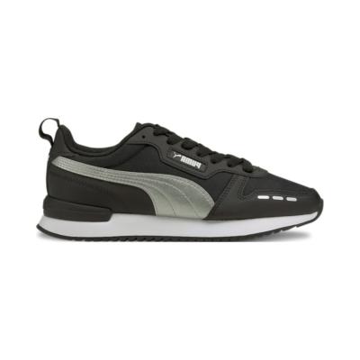 Puma R78 Metallic FS sneakers dames Zilver / Zwart 368867_01