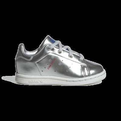 adidas STAN SMITH I Silver Metallic FW8081