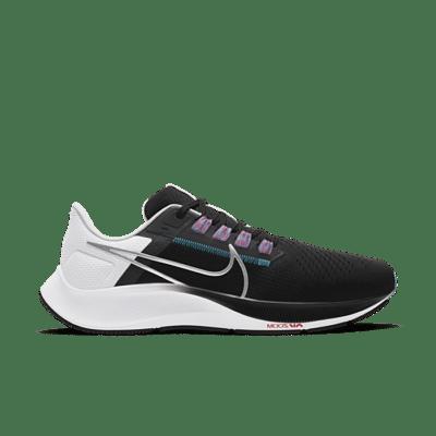 Nike Air Zoom Pegasus 38 Black White Chlorine Blue CW7356-003