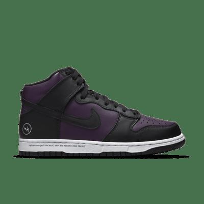 NikeLab Dunk High x Fragment Design 'Black' Black DJ0382-600