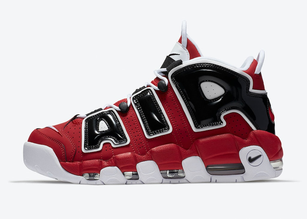 Op 16 april komt de Chicago Bulls colorway uit van de Nike Air More Uptempo